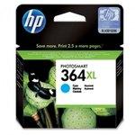 Cartucho inkjet HP 364XL de alta capacidad cian 750 páginas