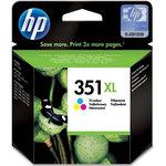Cartucho inkjet HP 351XL de alta capacidad tri-color 580 páginas
