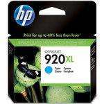 Cartucho inkjet HP 920XL de alta capacidad cian 700 páginas