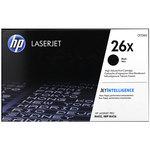 Tóner HP 26X de alta capacidad negro 9000 páginas