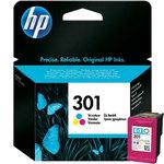Cartucho inkjet HP 301 Tri-color 165 páginas CH562EE