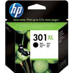 Cartucho inkjet HP 301XL de alta capacidad negro 480 páginas