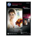 Papel fotográfico inkjet semisatinado A4 300g  Hp Premium Plus CR673A