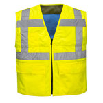 Chaleco refrescante de alta visibilidad Amarillo LXL R