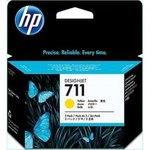 Cartucho inkjet HP 711 Pack 3 Amarillo 29 ml