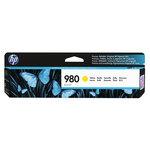 Cartucho inkjet HP 980 Amarillo 6600 páginas D8J09A