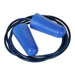 Tapón de espuma de PU detectable Azul  U