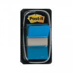 Dispensador de banderitas Post-it Index azul brillante