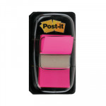 Dispensador de banderitas Post-it Index rosa brillante