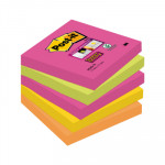 Bloc de notas adhesivas Post-it Super Sticky colores Cape Town 654S-N