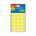 Etiquetas adhesivas Apli de  colores Bolsa 5 2063