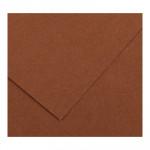 Cartulina de color A3 Iris Canson marrón chocolate