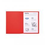 Subcarpeta A4 cartulina reciclada pastel Exacompta Forever 220g rojo