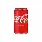 Coca-Cola latas 330 cc normal