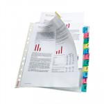 Funda catálogo multitaladro A4 polipropileno con pestaña Esselte 414170