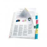 Funda catálogo multitaladro A4 polipropileno con pestaña Esselte 414160