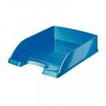 Bandeja de sobremesa colores metalizados de Leitz Wow azul metalizado