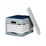 Contenedor para carpetas colgantes automático A4 Fellowes Bankers Box System 00810-FFEU