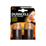 Pila alcalina Duracell Plus Power D