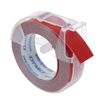Cinta rotuladora Dymo tradicional 9mm rojo