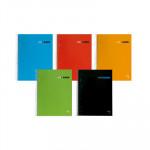 Cuaderno espiral microperforado tapa dura 160 hojas Pacsa A4 cubierta color