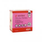 Cubo de notas adhesivas fluorescentes 75x75mm A-Series AS0891