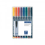 Rotulador permanente Staedtler Lumocolor punta media