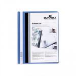 Dossier con fástener A4 canguro Durable Duraplus azul