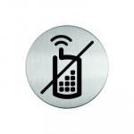Pictograma adhesivo no utilizar móvil Durable