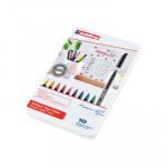 Rotulador punta de fibra Edding 1200 estuche de 10 unidades