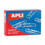 Clips labiados plateados Apli 11716