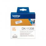 Etiquetas precortadas para impresoras Brother QL DK-11208