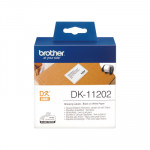 Etiquetas precortadas para impresoras Brother QL 62x100mm papel