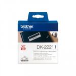 Cintas continuas impresoras de etiquetas ql Brother DK-22211