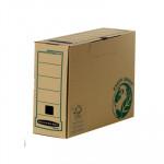Caja Archivo Definitivo Fellowes Bankers Box Earth Series. Montaje manual Fº lomo 100 mm
