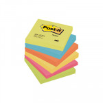 Bloc de notas adhesivas Post-it gama colores Energía 76x76mm