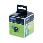 Etiquetas para impresoras Dymo Labelwriter 50x12mm para carpetas colgantes