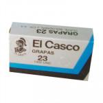Grapas galvanizadas El Casco Nº 23