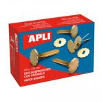 Encuadernador metálico con arandela Apli 12286
