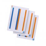 Tiras de cartulina Elba Print para carpetas colgantes visor superior