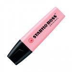 Rotulador fluorescente Stabilo Boss Pastel rubor rosa