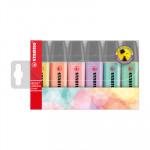Rotuladores fluorescente Stabilo Boss tonos pasteles 70/6-2