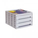Módulo de 3 cajones Archivo 2000 Archivotec gris