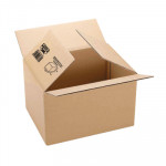 Caja de embalaje canal sencillo FIXOPACK  500x400x400mm