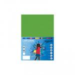 Cartulina de color  A4 Fabrisa verde fuerte