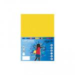 Cartulina de color  A4 Fabrisa amarillo limón