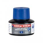 Tinta para rotulador de pizarra blanca Edding BTK25 azul