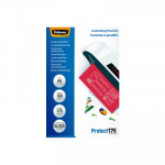 Fundas para plastificar 175 micras brillo Fellowes Protect A4
