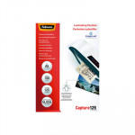 Fundas para plastificar 125 micras brillo Fellowes Capture A5