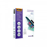 Fundas para plastificar 80 micras brillo A5 Fellowes Enhance